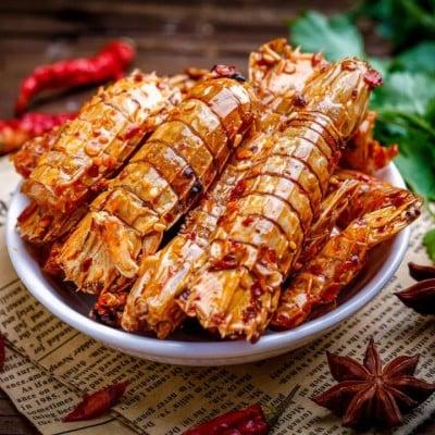 Frozen Cooked Mantis Shrimp