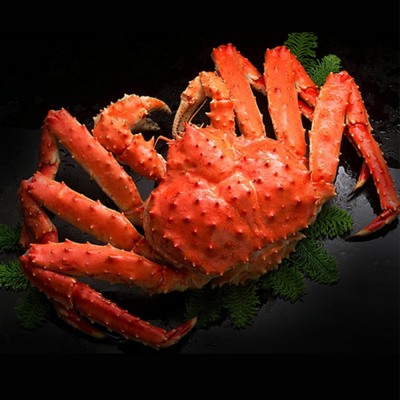 COOKED KING CRAB